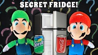 Luigi's Secret Fridge!