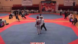 Gambar cover 80kg N  Cihad Bilen vs Batuhan Akyuz (2017 Turkish TKD Championships -21)