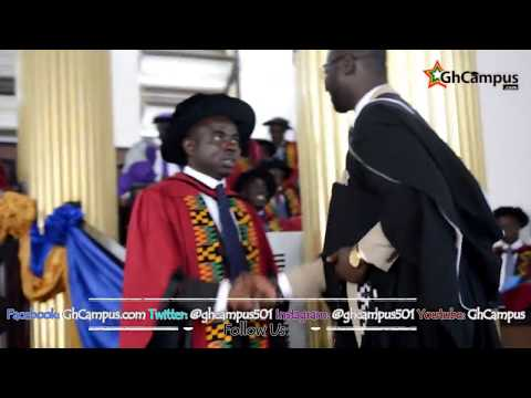 Former GRASAG-Legon President Nana Asafo-Adjei Ayeh Graduates