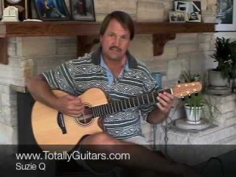 Learn how to play Suzy Q acoustic guitar lesson