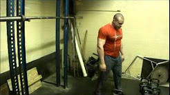 Scivation CEO Marc Lobliner trains Back at The Bodybuilders, Inc. Gym Akron, OH