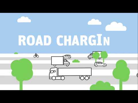 Road charging system in Belgium for heavy goods vehicles over 3.5 t