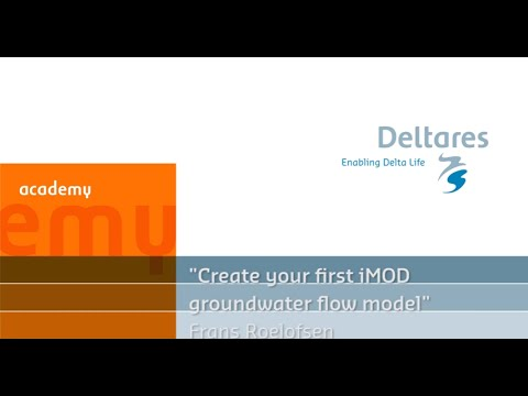 Create Your First iMOD Groundwater Flow Model