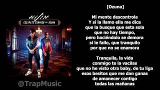 Escápate conmigo - Wisin ft. Ozuna [LETRA-KARAOKE]