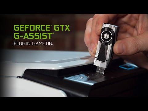 최초의 인공지능 게임 비서 GeForce GTX G-Assist