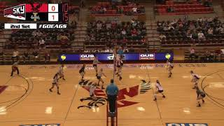 Highlights Eastern Washington Volleyball vs. Idaho (Oct. 28, 2017).