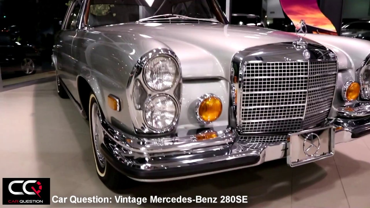 1971 mercedes benz 280 se vintage luxury youtube. Black Bedroom Furniture Sets. Home Design Ideas