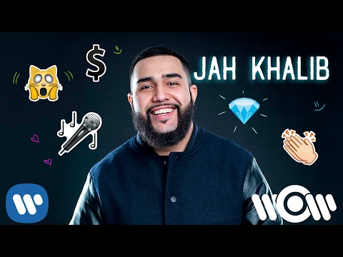 Jah Khalib - Если чё, я Баха (Lyric)
