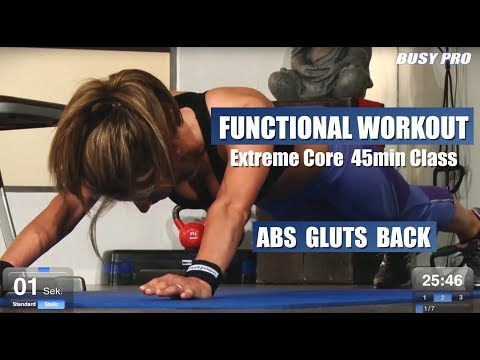 Core Workout 45min Fitnessclass