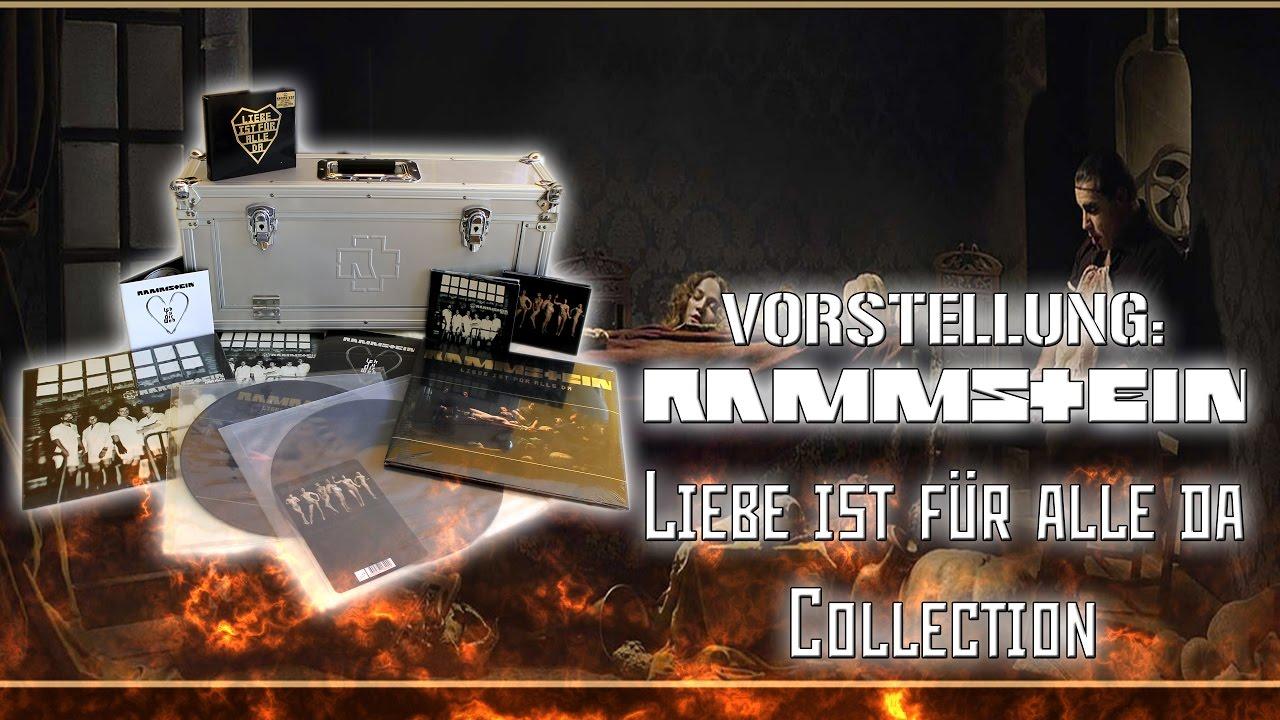 Vorstellung Rammstein Liebe Ist Fur Alle Da Collection Youtube