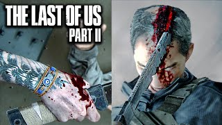 THE LAST OF US 2 - Aggressive Gameplay & Epic Brutal Combat Vol. 3 [Cinematic Style]