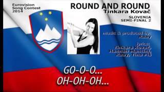 Eurovision 2014: SLOVENIA - Round And Round (Tinkara Kovač)
