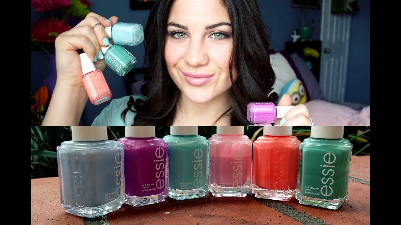 Cool Nail Polish Game Online Thick Nail Art New Design 2014 Shaped Stop The Bite Nail Polish Blue Glitter Nail Art Youthful Where To Purchase Opi Nail Polish BrownReviews On Gel Nail Polish My Favorite Essie Nail Polishes!   YouTube