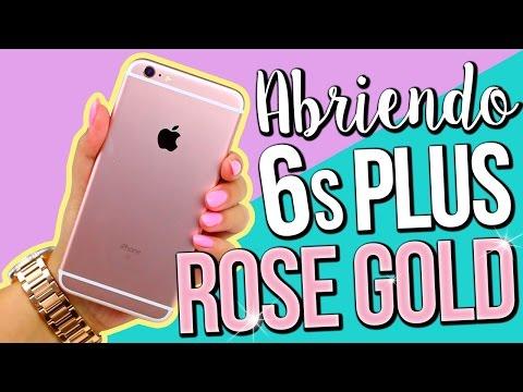 ABRIENDO el iPhone 6s Plus ROSA!