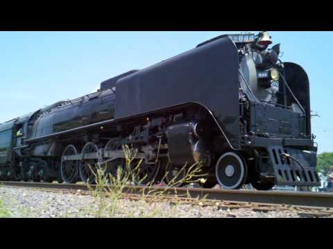 Trains ~ Steam Engine visits Southern Illinois