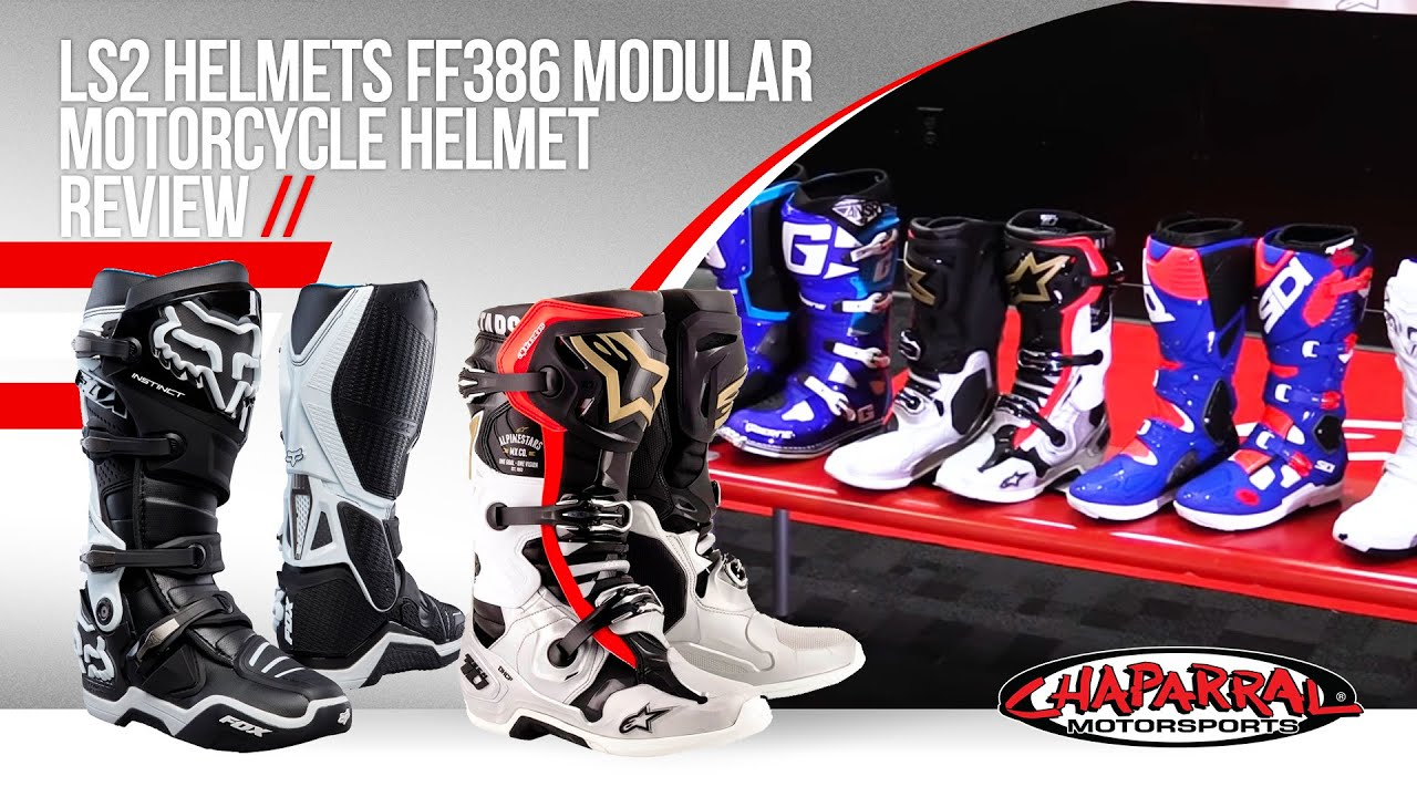 Ls2 Helmets Ff386 Modular Motorcycle Helmet Review Youtube