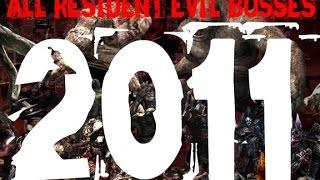 all resident evil bosses 2011