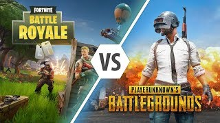 FORTNITE VS PUBG PLAYERS ! New 2018