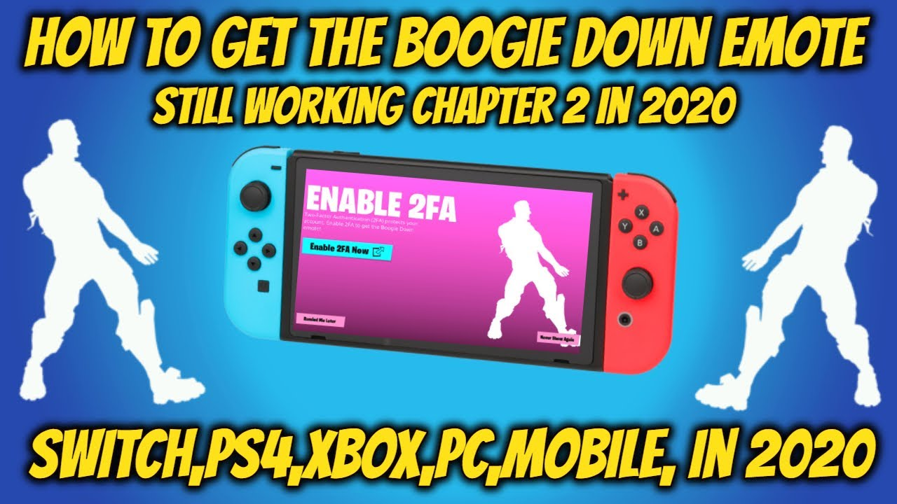 2fa In Fortnite Battle Royale Xbox Enable 2fa Fortnite Chapter 2 In 2021 Still Working Switch Youtube