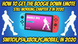 Enable 2fa Fortnite Chapter 2 In 2020 Still Working (switch)