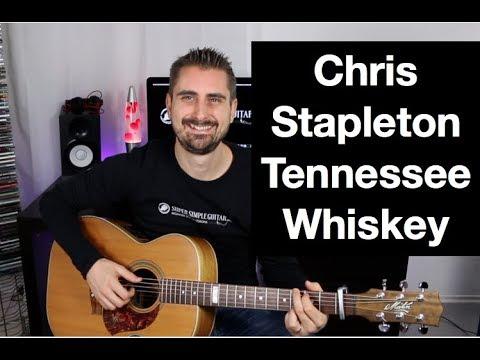 """Chris Stapleton """"Tennessee Whiskey"""" Guitar lesson"""