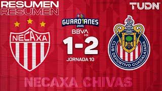 Resumen y goles | Necaxa 1-2 Chivas | Guardianes 2020 Liga BBVA MX - J10 | TUDN