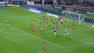 ΠΑΟΚ - Ολυμπιακός: 1-1 (hls)