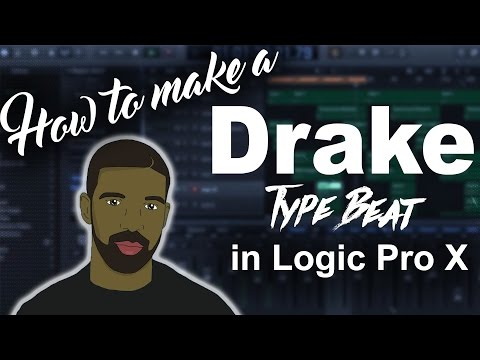 How to make a Drake More Life Type Beat in Logic Pro X | Beat Maker Tutorials
