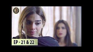 Aisi Hai Tanhai Episode 21 & 22 - 17th Jan 2018 - Nadia Khan , Sami Khan & Sonya Hussain