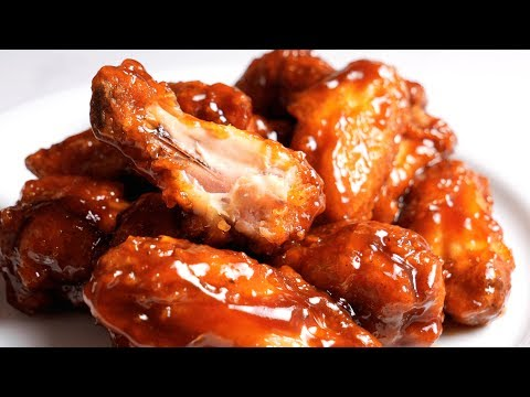The Best BBQ Chicken Wings