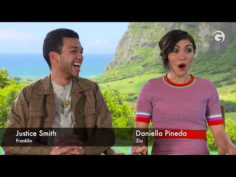 Jurassic World: Fallen Kingdom Interviews: Nasty Woman Daniella Pineda & Justice Smith