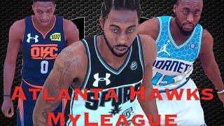 Atlanta Hawks MyLeague Ep 17 30 TEAM UNDER ARMOUR JERSEY REBRAND! 🔥JERSEYS!