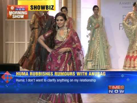 Huma Qureshi rubbishes rumours with Anurag Kashyap
