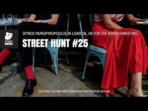 Street Photography - Street Hunt #25 - The 3rd Annual Street Hunters Meeting in London, UK!