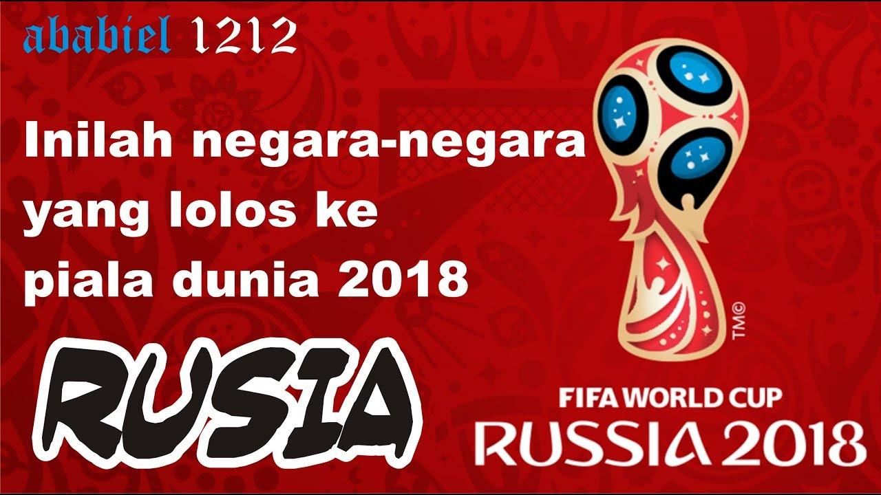 Inilah Negara Negara Yang Os Ke Piala Dunia 2018 Rusia