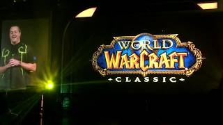 BlizzCon 2017 | Classic WoW Reveal Crowd Reaction | Mythic Hall Crowd Reaction