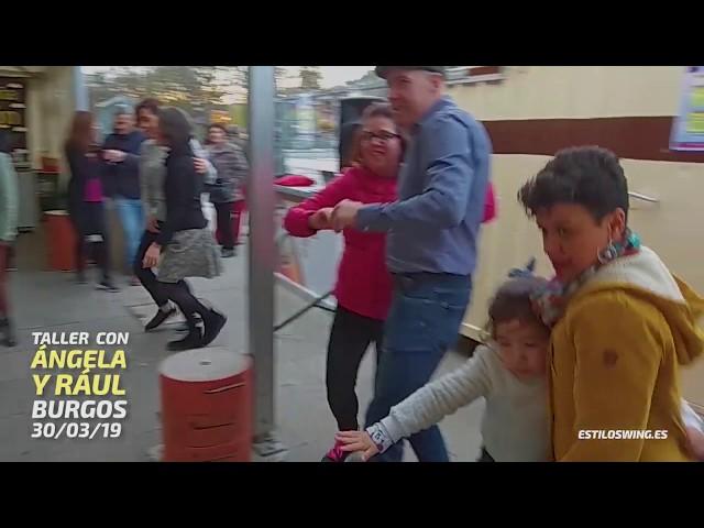 Taller en burgos con Raúl y Ángela | Swing en Burgos