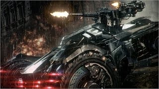 Official Batman: Arkham Knight -- Batmobile Battle Mode Gameplay