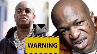 Birdman WARNS BLOGGERS 'If You Cross The Line You Will Pay