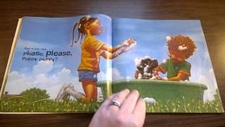 Kindergarten Read Aloud Please Puppy Please By Spike Lee And Tonya Lewis Lee
