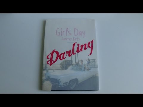Unboxing Girl's Day 걸스데이 4th Mini Album Summer Party Every Day IV