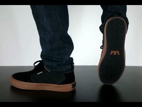 5799b135d5d4 SUPRA FLOW black gum - YouTube