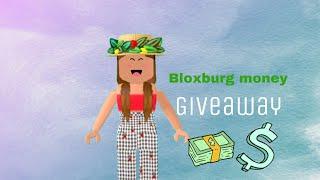 10k BLOXBURG MONEY GIVEAWAY | Roblox Bloxburg | Cloeyloey (closed)