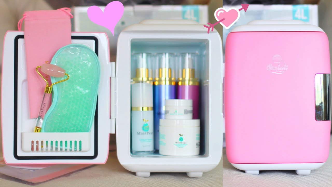 Skincare Fridge Mini Cooler For Skin Care And Makeup Unboxing And Review Youtube