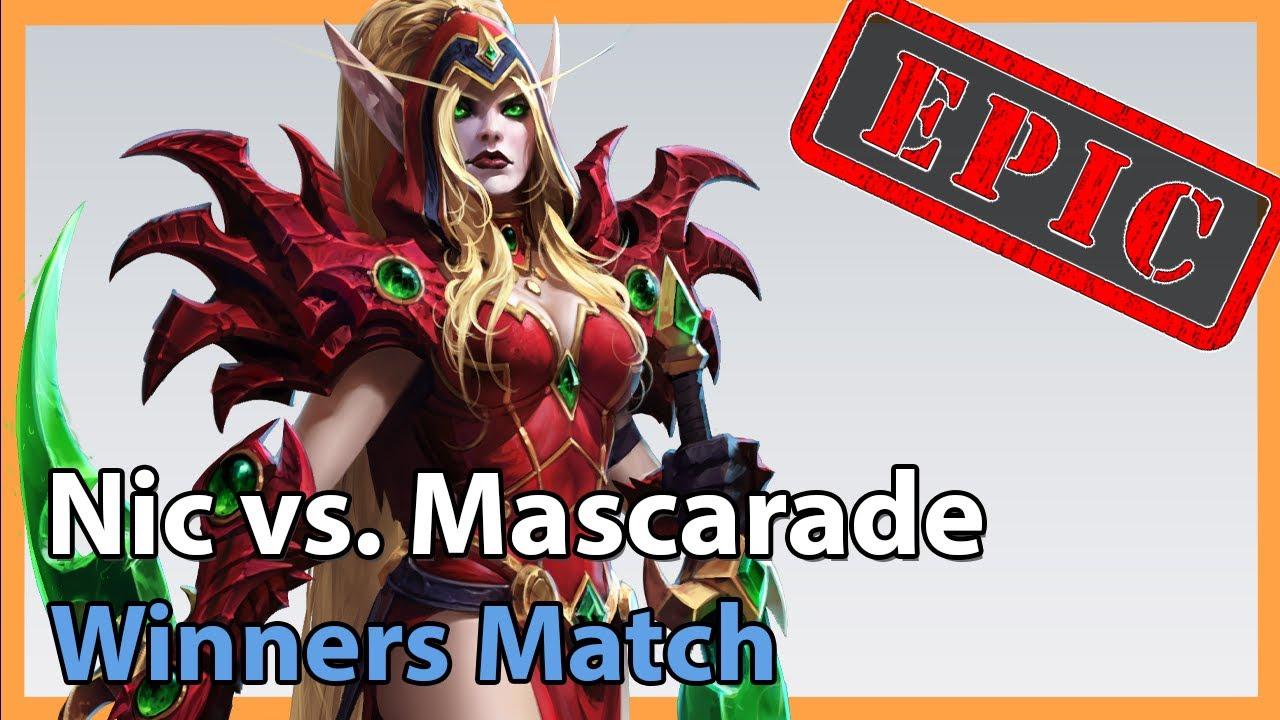 Nic vs. Mascarade - META Madness - Heroes of the Storm Tournament