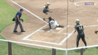Army's McCravey With Crazy Leaping Score - Jumps Over Catcher