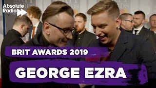 George Ezra BRITs 2019 - British Male Solo Artist Video