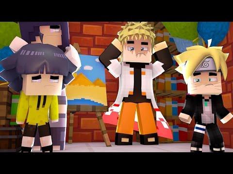 Minecraft: BORUTO - NARUTO ESTRAGOU A FESTA DE SUA FILHA! #2