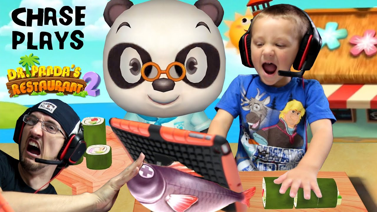 Download Chase plays Dr. Panda's Restaurant 2!!  Cooking Food for Picky Dudes w/ FGTEEV Duddy   KIDS iOS APP