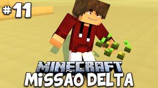 PLANTANDO ERVAS! - MISSÃO DELTA #11 (MINECRAFT CRASH LANDING)
